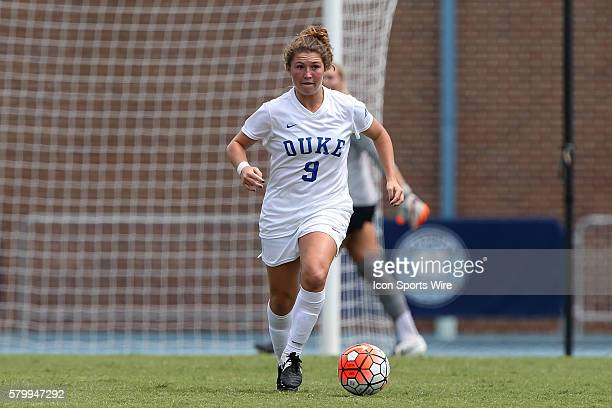 Duke's Kat McDonald The Duke University Blue Devils played the Weber State University Wildcats at Fetzer Field in Chapel Hill NC in a 2015 NCAA...