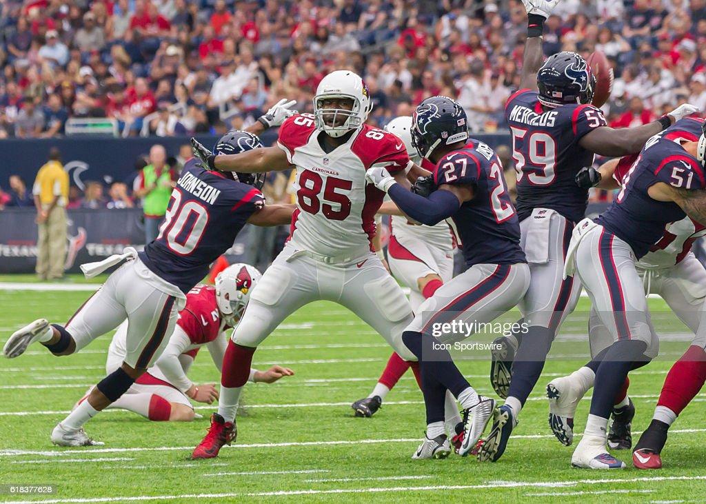 NFL: AUG 28 Preseason - Cardinals at Texans : News Photo