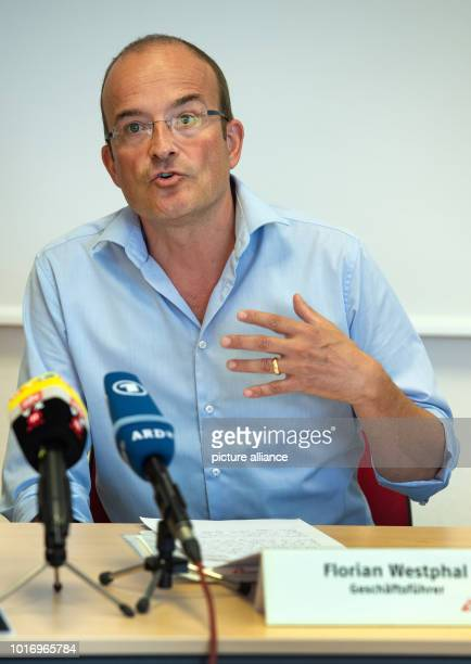 Florian Westphal Managing Director of the German section MSF speaks at a press conference on the situation of the rescue ship Aquarius Photo Lisa...