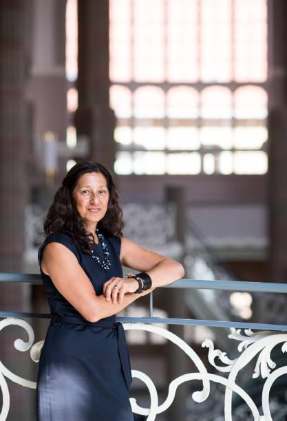 Interpreter Zehra Kubel Pictures | Getty Images