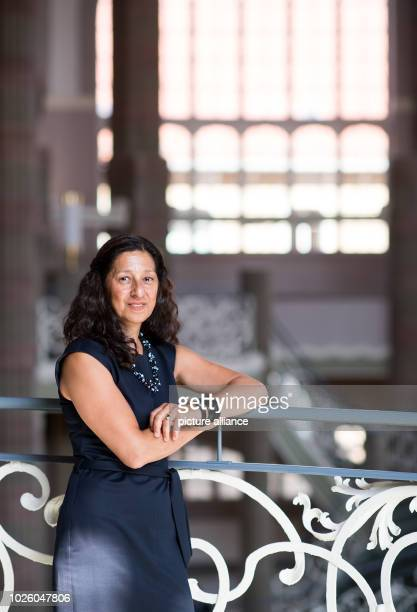Zehra Kubel GermanTurkish interpreter stands in the courthouse in BerlinMitte after a court hearing Without interpreters Berlin's police and courts...