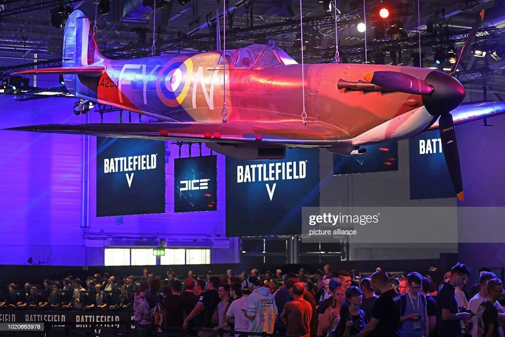 Computer Games Fair Gamescom : News Photo