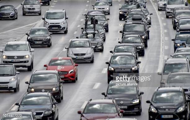 A long traffic jam has formed on the A7 motorway behind the Elbe tunnel going north Drivers also have to wait longer on the A1 motorway to headed...