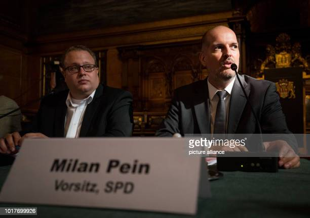 The Chairman of the G20 Special Committee Milan Pein and the Secretary Dennis Gladiator open the last meeting of the G20 Special Committee in the...