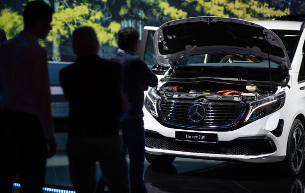 DEU: Presentation Of Electric Model Mercedes EQV