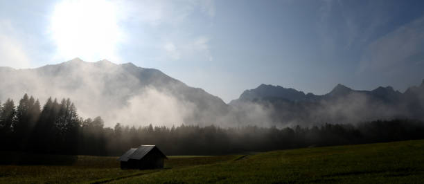 DEU: Morning Fog In The Bavarian Mountains