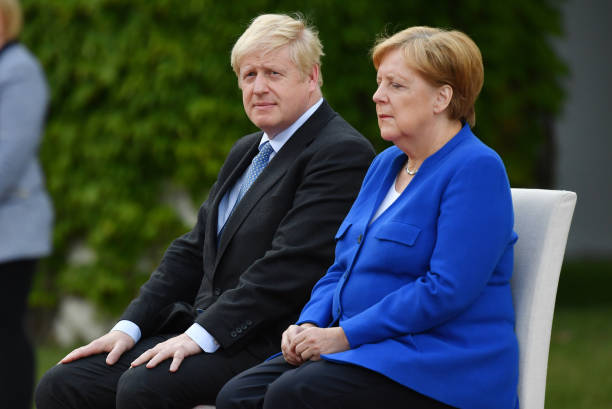 DEU: British Prime Minister Boris Johnson In Berlin