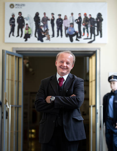 DEU: Anti-Semitism Commissioner Of Berlin Police Presented