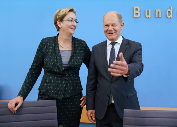 DEU: Candidates For SPD Chairmanship - Geywitz And Scholz
