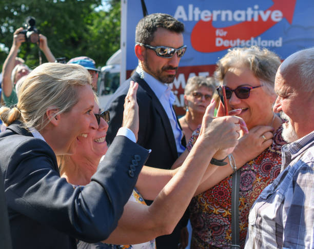 DEU: Election Campaign AfD In Brandenburg
