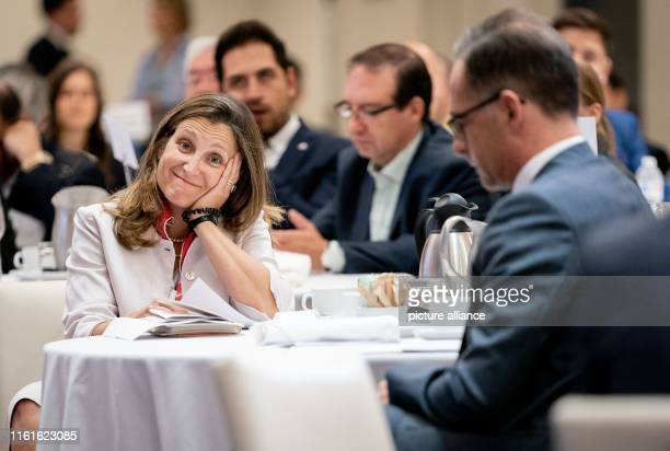 Heiko Maas Minister of Foreign Affairs and his Canadian counterpart Chrystia Freeland will jointly participate in an event on Defending Liberal...