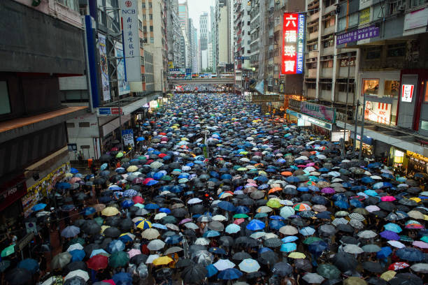 CHN: Protests In Hong Kong