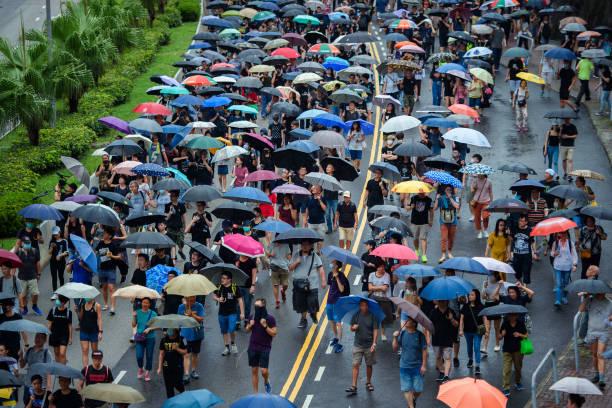 CHN: Protests In Hong Kong