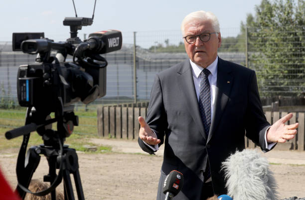 DEU: German Federal President Visits Correctional Facility