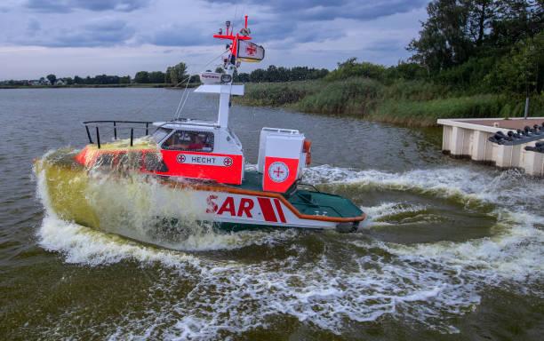 DEU: Distress Boat Starts For A Mission