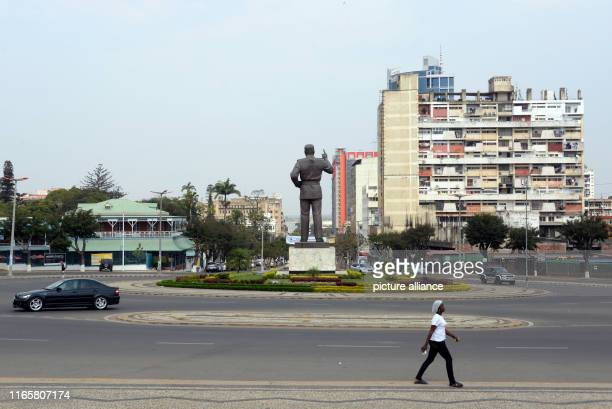 A large statue of Samora Machel Mozambique's first president after independence stands at a crossroads Pope Francis will visit the capitals of...