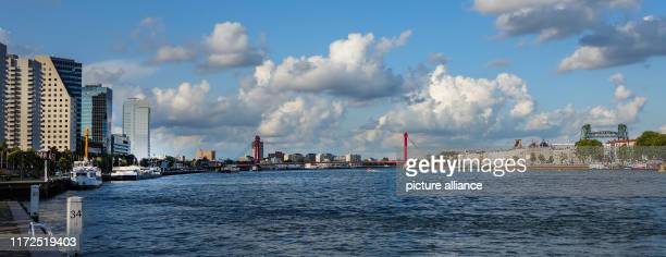 The river Nieuwe Maas in the centre of the city Photo Patrick Pleul/dpaZentralbild/ZB