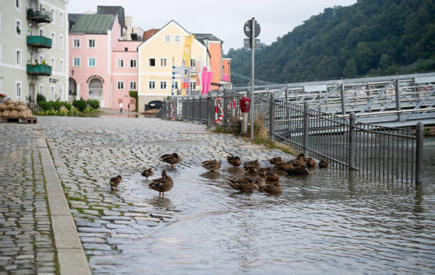 DEU: Floods After Rainfall In Bavaria