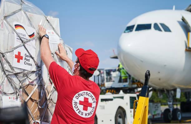 DEU: German Red Cross Aid Flight To Beirut