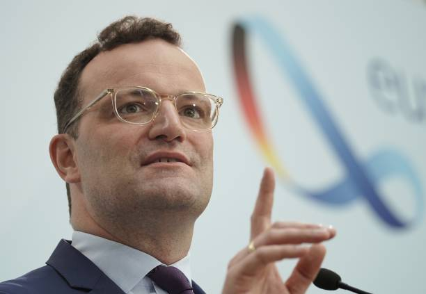DEU: German Federal Minister Of Health Jens Spahn Comments On Corona Pandemic