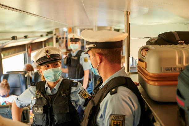 DEU: Control Of Compulsory Masks In Trains Of The German Railway