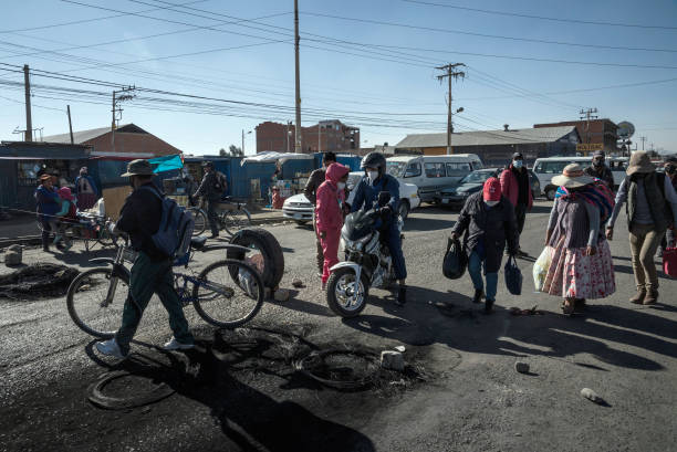 BOL: Road Blockades In Bolivia