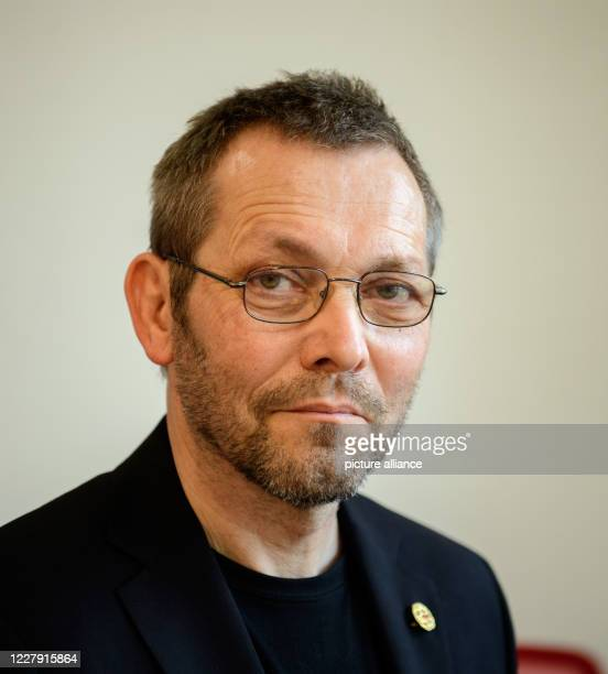 August 2020, Brandenburg, Potsdam: Hans Leitner, Head of the Child Protection Unit in the State of Brandenburg, after the press conference on the...