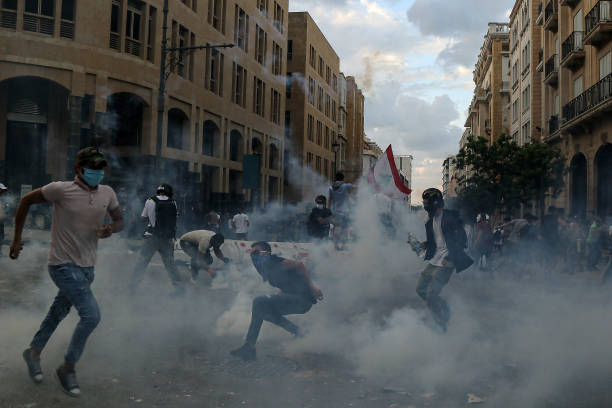 LBN: Anti-Government Protests In Beirut