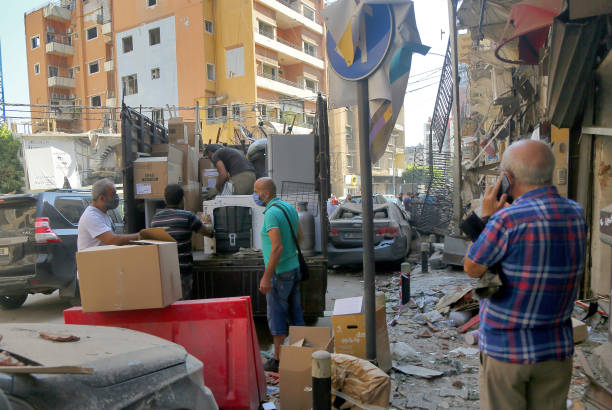 LBN: After The Massive Explosion In Beirut