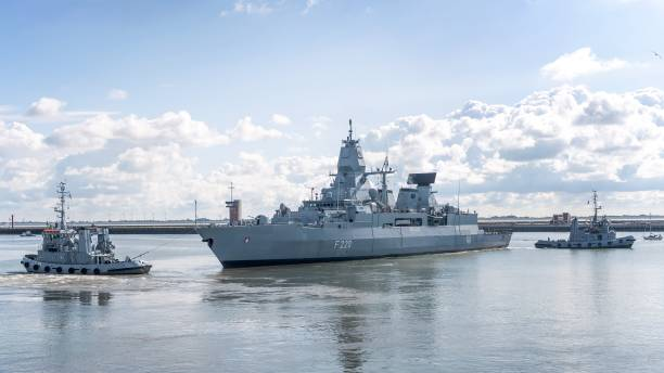 DEU: Frigate Hamburg Sets Sail For Libya