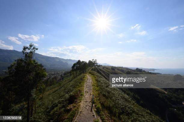 "August 2020, Spain, Llanes: View from the viewpoint ""La Boriza"". Photo: Sebastian Kahnert/dpa-Zentralbild"