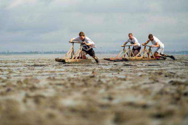 DEU: Watt En Schlick Festival - Silt Sled Race