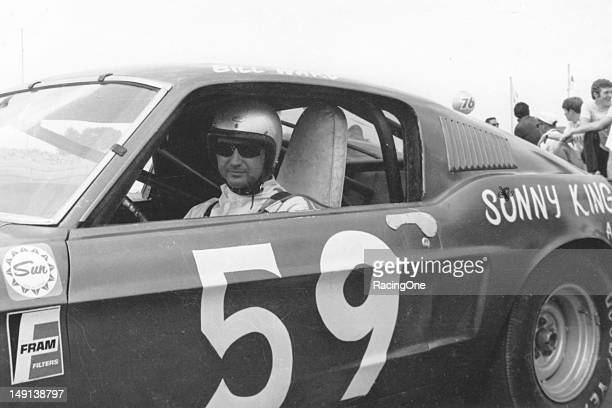 Bill Ward of Anniston AL drove this 1968 Ford Mustang for car owner Tom Pistone in the Bama 200 NASCAR Grand American race at Alabama International...