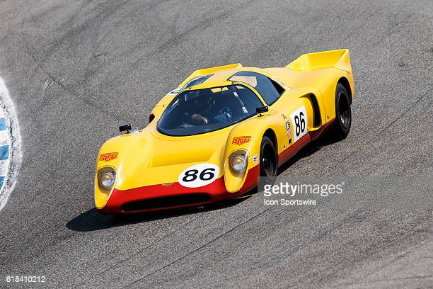 A 1970 Chevron B16 driven by Nick Colyvas from San Frnacisco ca competed in Group 3B during Rolex Race 3B at the Rolex Monterey Motorsports Reunion...