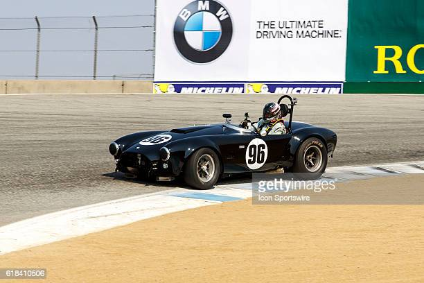 A 1965 Cobra AC driven by Lorne Leibel from North York Ontario competed in Group 6B during Rolex Race 6B at the Rolex Monterey Motorsports Reunion...