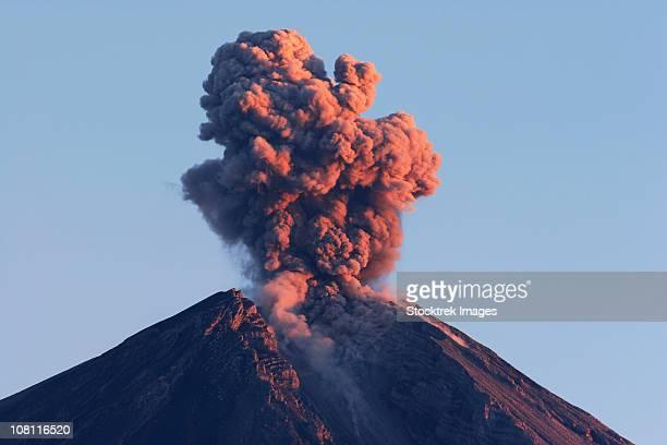 august 22, 2005 - semeru eruption, java island, indonesia. - mt semeru stock pictures, royalty-free photos & images