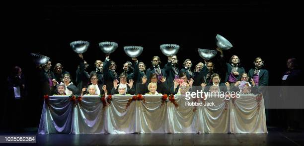 August 23 ] Artists of the company in Opera de Lyon's production of Gioachino Rossini's La Cenerentola directed by Stefan Herheim and conducted by...