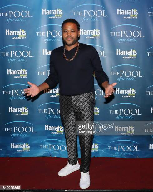 Anthony Anderson hosts The Pool After Dark at Harrah's Resort on Saturday August 26 2017 in Atlantic City New Jersey