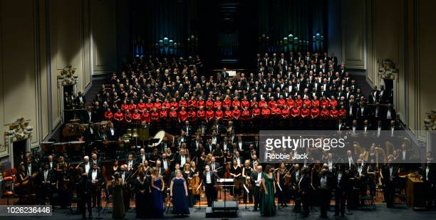 Daniel Harding with The Swedish Radio Symphony Orchestra Edinburgh Festival Chorus NYCoS National Girls Choir and soloists Tamara Wilson Ida Falk...