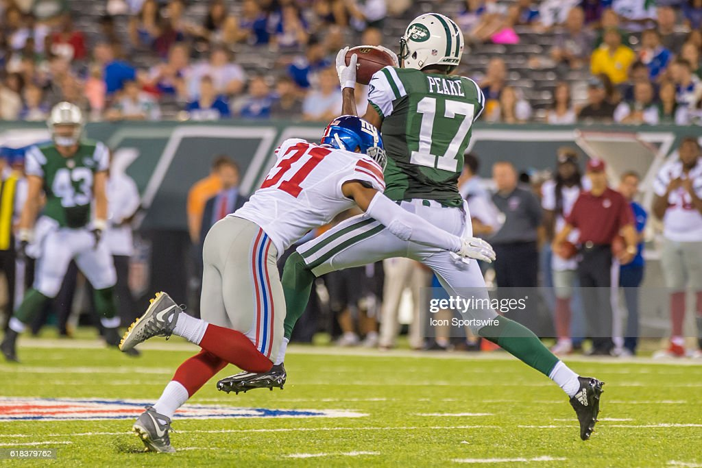 NFL: AUG 27 Preseason - Giants at Jets : News Photo