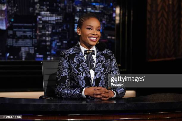 """August 27, 2021"""" Episode 133 -- Pictured: Amber Ruffin --"""