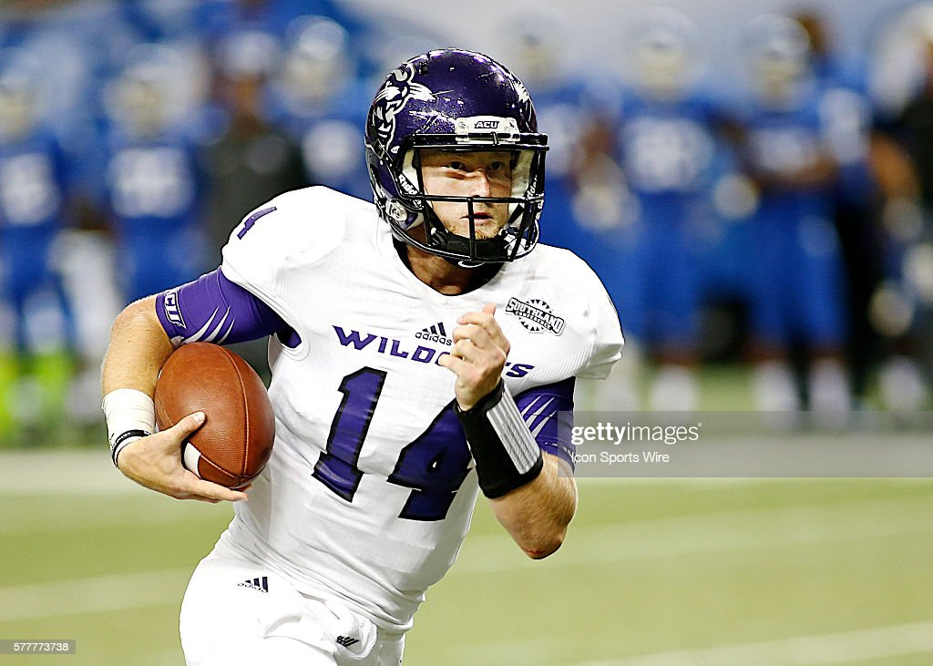 NCAA FOOTBALL: AUG 27 Abilene Christian at Georgia State : News Photo
