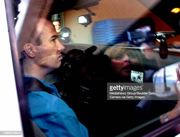 August 28 2006/ Boulder / John Mark Karr being lead back to the Boulder County Jail after Boulder Authorities decided to drop all charges relating...