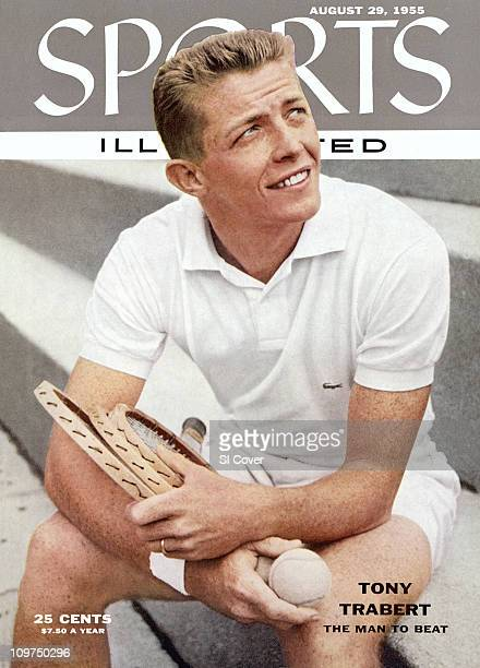 Tennis Closeup portrait of Tony Trabert during photo shoot5/28/1954CREDIT Arnold Newman