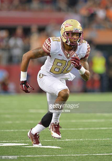 Florida State Seminoles wide receiver Rashad Greene in action during the Cowboys Classic Florida State at Oklahoma State at ATT Stadium in Arlington...