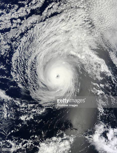 August 4, 2014 - Hurricane Iselle over the Pacific Ocean.