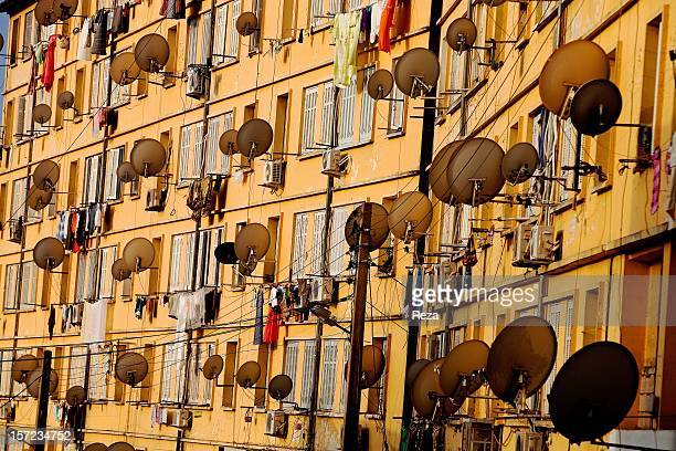 August 5th Town of Bejaia Algeria In the town of Bejaia the inhabitants of this building could look out over the port and the sea but the satellite...