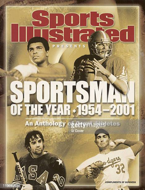August 6 2002 Sports Illustrated via Getty Images Presents Cover Sportsman of the Year An Anthology of Great Athletes Boxing Muhammad Ali during...