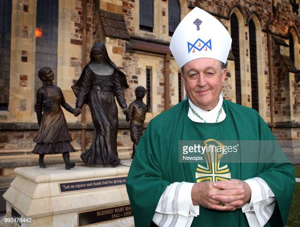 Adelaide SA Catholic Archbishop of Adelaide Philip Wilson at St Francis Xavier Cathedral following service commemorating the 100th anniversary of the...