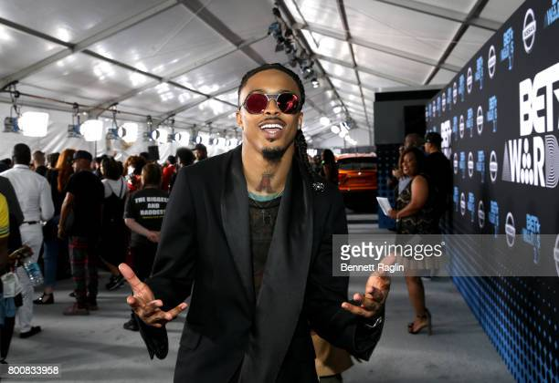 August Alsina at the 2017 BET Awards at Staples Center on June 25 2017 in Los Angeles California